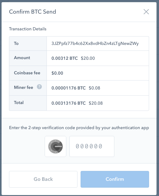 Sending RBF Transaction - Send transaction confirmation screen. Shows fees. No RBF flag. Transaction sent without RBF signaled.