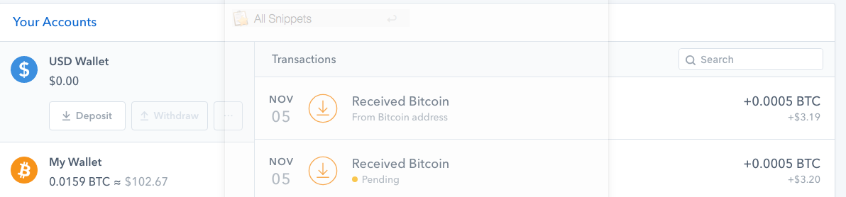 Receiving Bumped RBF Transaction - After bumped transaction confirmed, the bumped transaction then shows up and is credited. Original transactions stay as pending (even after 100 confirmations).