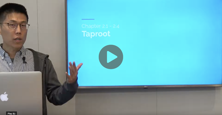 Introduction to Taproot